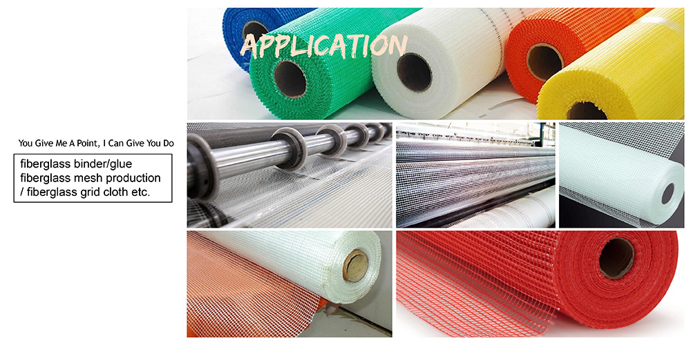 positioning adhesive for fiberglass mesh