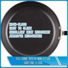 Silicone resin non-stick coating